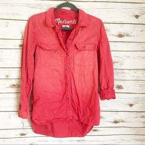 Madewell button down top! Great condition!!